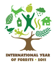 Logo of International Year of Forests 2011